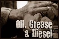 Oil Grease and Diesel